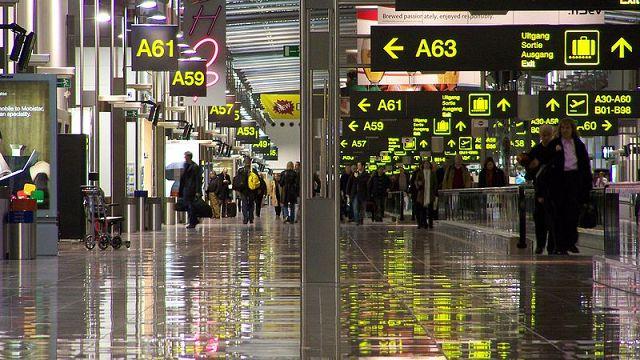 Технический сбой парализовал работу аэропорта