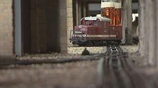 A Prague, le petit train de la bière