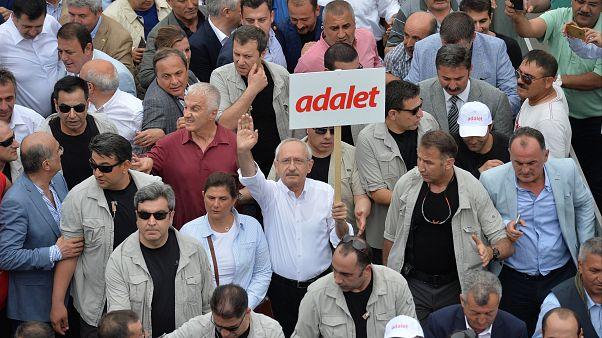 آغاز راهپیمایی مخالفان دولت ترکیه از آنکارا تا استانبول