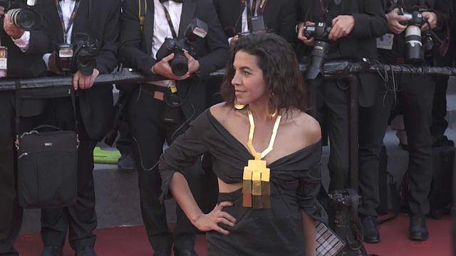 شهيرة فهمي...ممثلة مصرية شابة يسطع نجمها في مهرجان كان