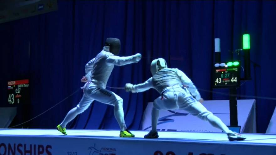 European Fencing Championships: France and Italy triumph in Tbilisi