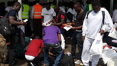 Ghanaians deported from USA