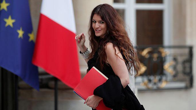 جدل حول تغريدة لوزيرة فرنسية تنشر صور زيارتها لإحدى شوارع باريس
