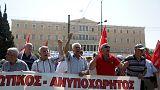 Στους δρόμους οι συνταξιούχοι- Διαμαρτύρονται για τις νέες περικοπές