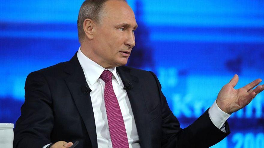 Ligne directe avec Vladimir Poutine