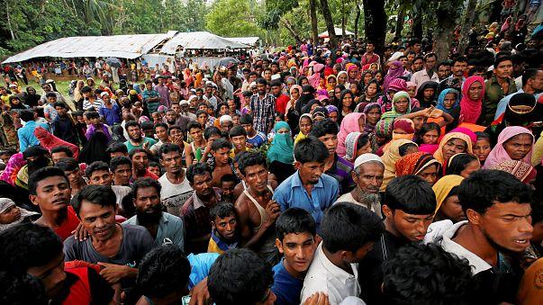 وضع بائس لمسلمي الروهينغيا اللاجئين في بنغلاديش بعد فرارهم من بورما