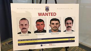 ABD polisi, yakalama kararı çıkarttığı Erdoğan'ın korumalarının fotoğraflarını yayımladı