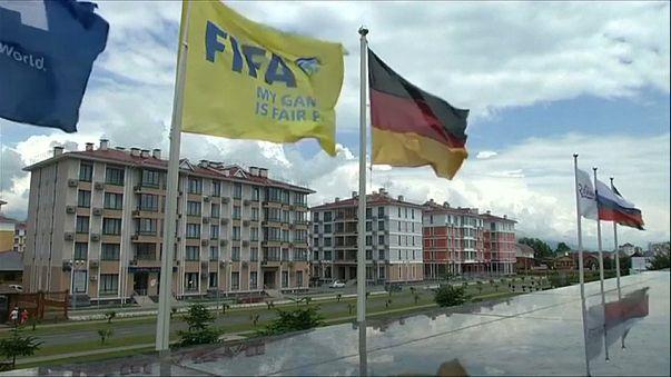 Confed Cup: DFB-Elf in Sotschi eingetroffen