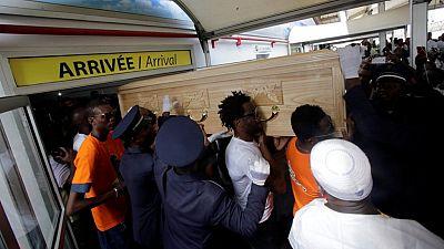 Ex-Ivorian footballer Cheick Tiote returns home, burial set for Abidjan