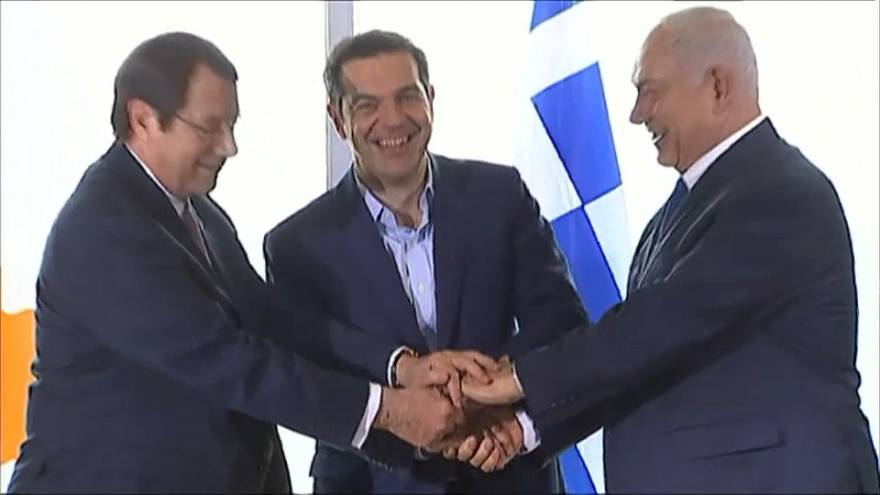 أطول خط أنابيب غاز يربط بين قبرص واليونان وإسرائيل
