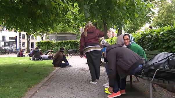 السجن دون إنذار للمتسولين في الدنمارك