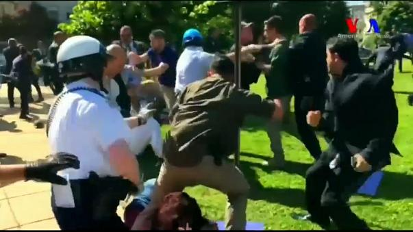 Полиция Вашингтона выдала ордер на арест охранников Эрдогана