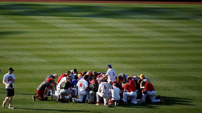 Anteilnahme nach Baseball-Attacke