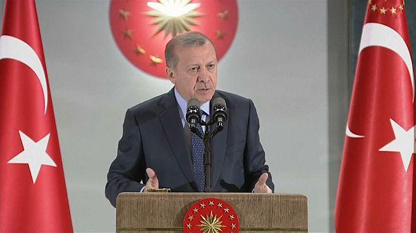"""أردوغان:""""اعتقال حراسي في أمريكا أمر غير قانوني"""""""