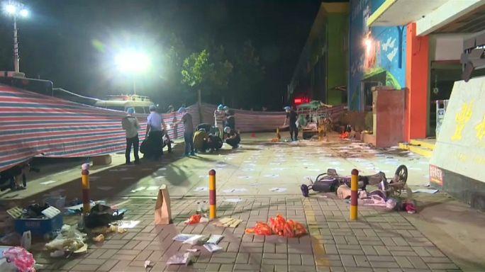 China: Explosion vor Kita war Bombenanschlag