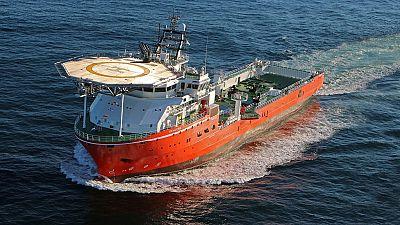 Namibia unveils world's largest diamond exploration ship