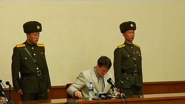 US student Otto Warmbier returned from North Korea has severe brain injury