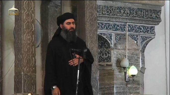 الجيش الروسي يرجح مقتل البغدادي،زعيم تنظيم الدولة ا الإسلامية  في غارة بسوريا الشهر الماضي