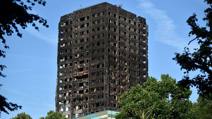 شمار قربانیان آتشسوزی لندن به ۳۰ نفر افزایش یافت