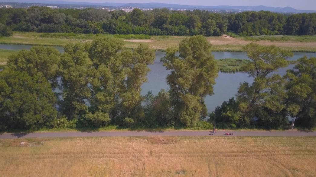 ViaRhôna: Rhone Nehri kıyısından bisikletle Cenevre-Akdeniz turu