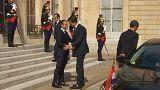 Marathon diplomatique pour Macron