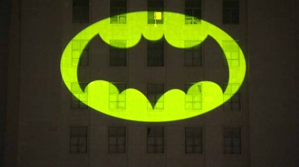 L.A. becomes Gotham City for a night