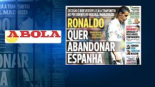 احتمال خداحافظی کریستیانو رونالدو از رئال مادرید