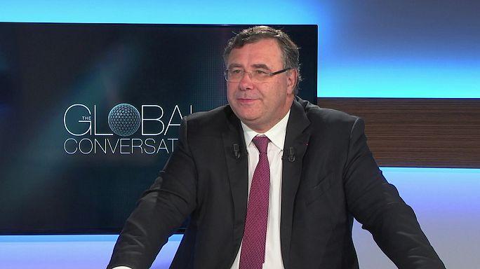 """The Global Conversation, Pouyanné (Total): """"Il prezzo del petrolio? La geopolitica non c'entra nulla"""""""