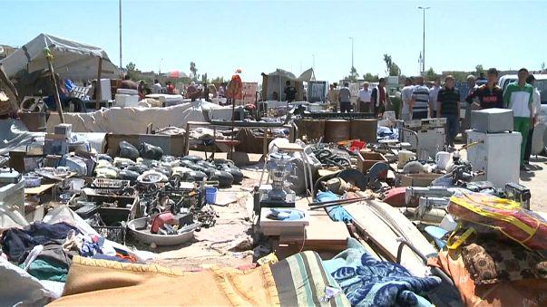 سوق الأدوات المستعملة مثال على معاناة أهل الموصل