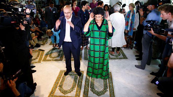 Eine Moschee in Berlin, in der Frauen predigen dürfen