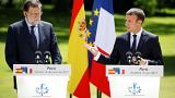 """Macron califica el conflicto en Cataluña de """"asunto interno"""" de España"""