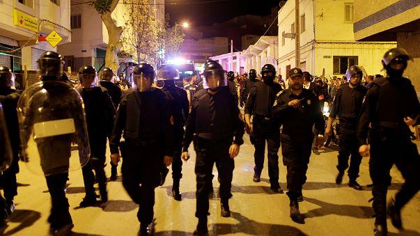 احتجاجات في الحسيمة المغربية للمطالبة بإطلاق سراح سجناء