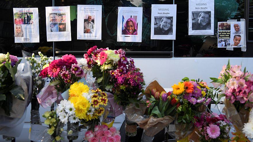 ارتفاع عدد ضحايا حريق برج لندن لـ30 قتيلا