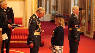 Ebola fight in Sierra Leone: Ex-UK diplomat gets 'Order of British Empire'