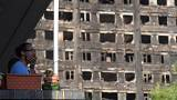 Anger erupts over London tower block fire