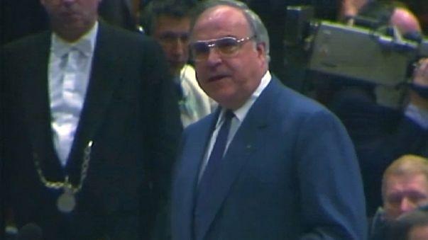 """Pour Kohl, """"l'amitié franco-allemande était un fondement"""""""