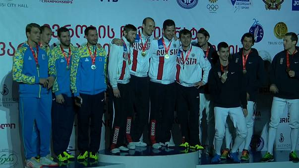 European Fencing Championships: Russia shines in Tbilisi