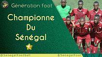 ligue 1: Génération Foot, championne du Sénégal