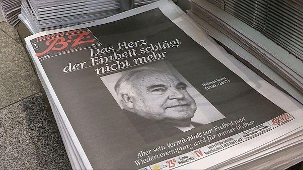 La Germania rende omaggio a Helmut Kohl