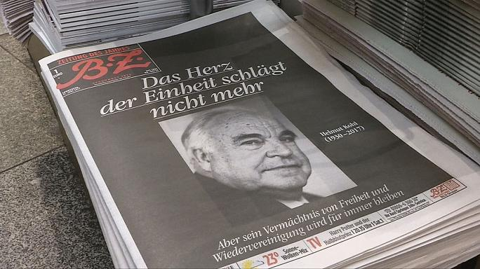 Germany pays tribute to Helmut Kohl