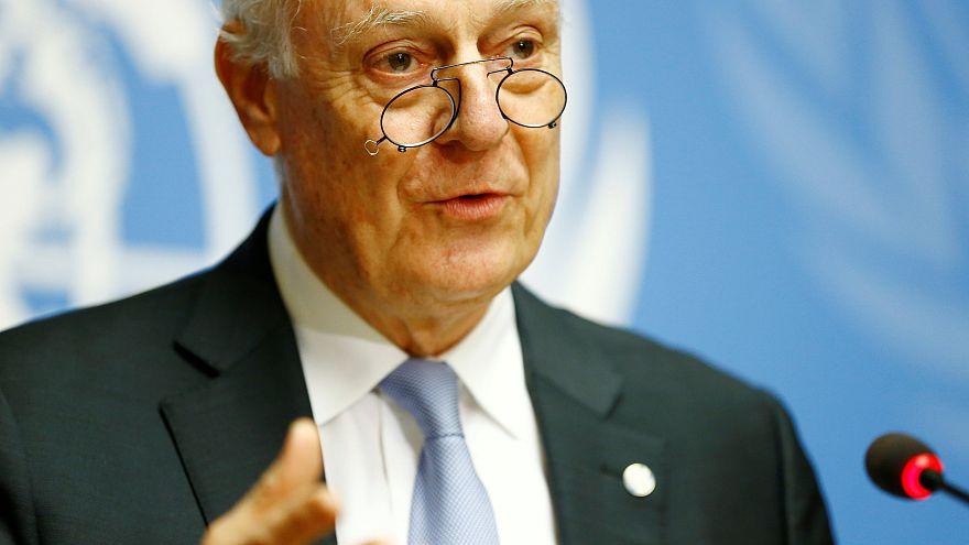 دي ميستورا: جولة جديدة من مفاوضات السلام السورية الشهر المقبل