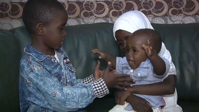 بالفيديو: عودة أطفال لمسلحي داعش من ليبيا إلى ذويهم