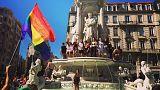 Mehr als 10.000 bei Gay Pride in Lyon - nicht in der Altstadt wegen extremer Rechter?