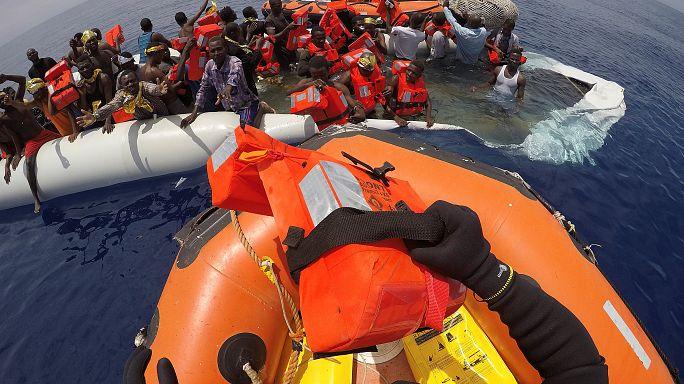 Mais salvamentos no Mediterrâneo