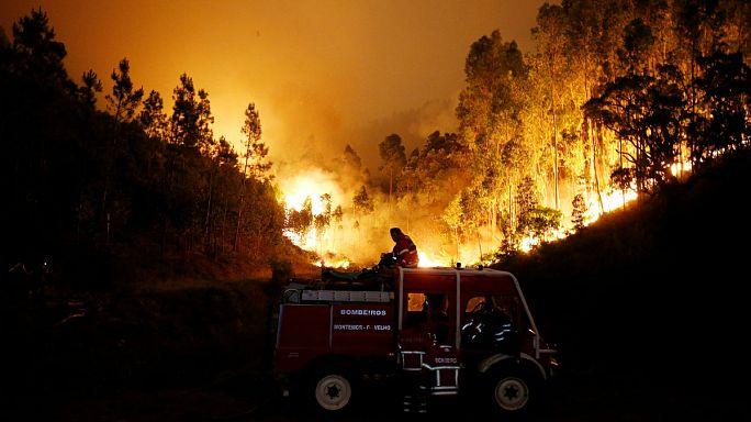 Portogallo in fiamme: almeno 55 i morti