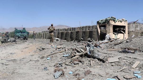 حمله طالبان به مرکز پلیس در ولایت پکتیا