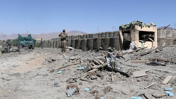 Taliban claims multiple suicide bombs in eastern Afghanistan