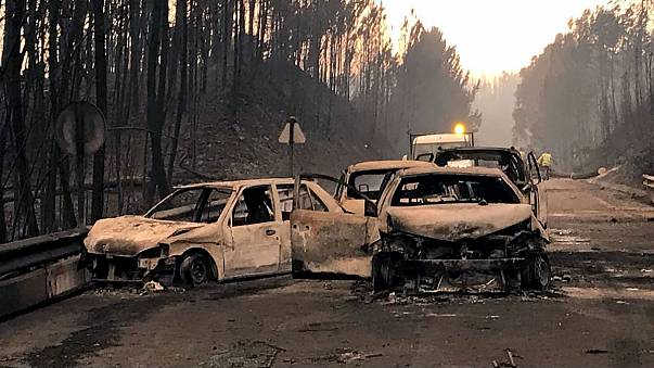 Portugal fire in pictures