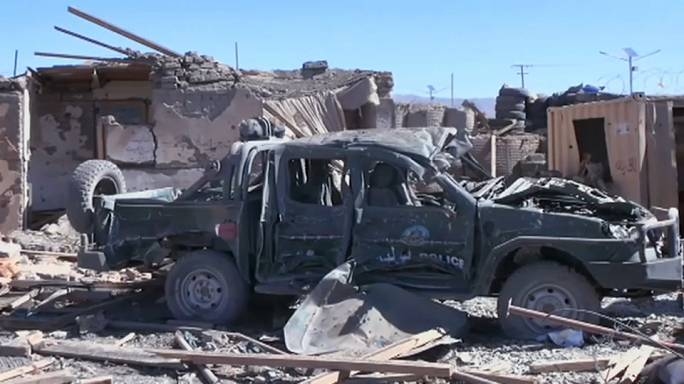Афганистан: взрывы и штурм управления полиции