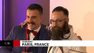 Primer campeonato francés de barbas